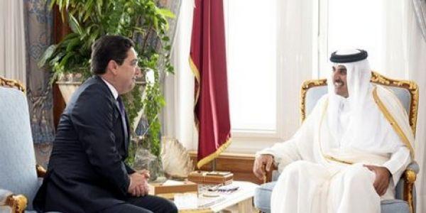 بوريطة قدم رسالة ملكية لأمير دولة قطر