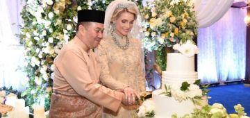 ولي عهد ماليزيا تزوج بمربية سويدية ودارو عرس هاي كلاص –صور وفيديو