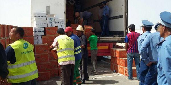 تفاصيل إحباط تهريب 12 طن من المخدرات فالكركرات عبر شاحنة غادية لانواذيبو