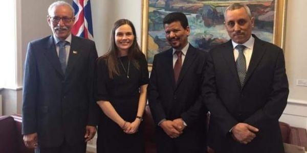 إيسلندا: علاقاتنا مع المغرب مزيانة وزيارة زعيم البوليساريو ماشي رسمية