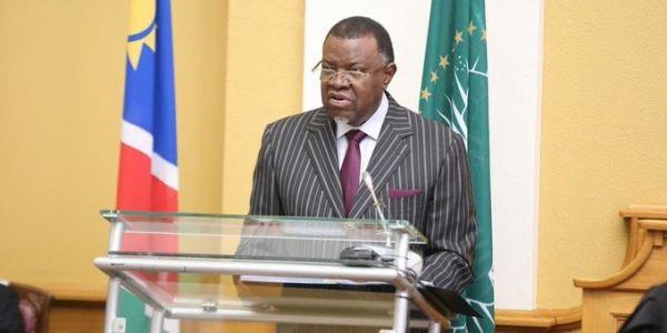 رئيس ناميبيا هاجم الوحدة الترابية ديال المغرب فخطابو