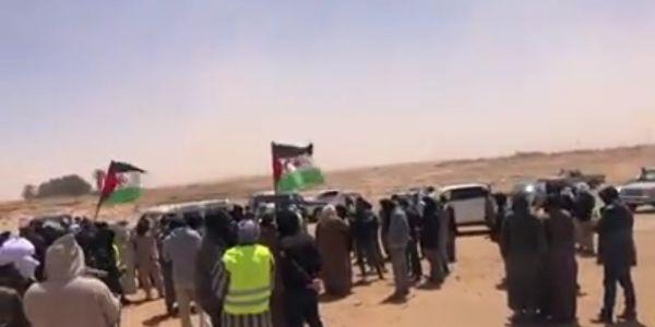 لليوم الثالث. وقفات فمخيمات تندوف للمطالبة برفع الحصار – فيديو