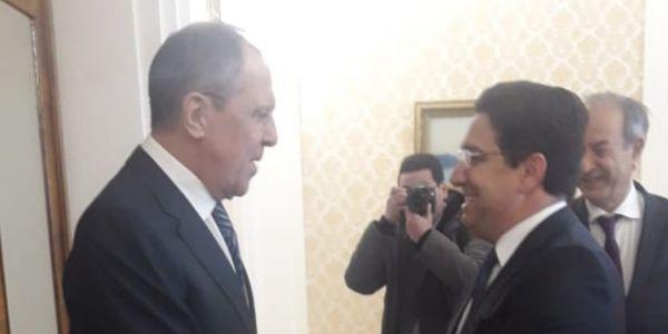 ثالث لقاء للدبلوماسية المغربية مع روسيا. بوريطة تلاقى لافروف فموسكو