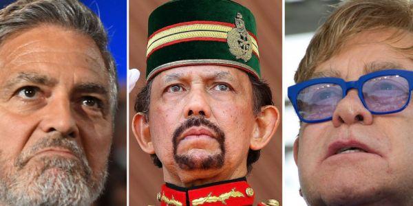 مشاهير عالمين كيآمنو بالحرية علنو المقاطعة بعد قرار رجم المثليين في بروناي