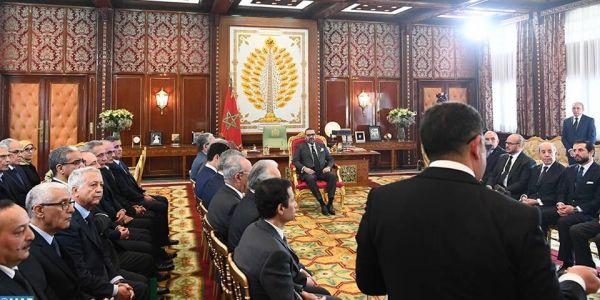 الملك يترأس جلسة تقديم خارطة تطوير التكوين المهني