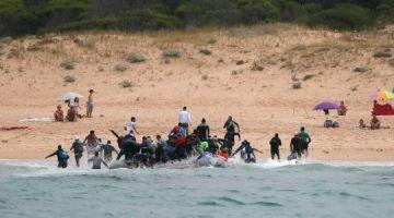 تصفية الحسابات بين عصابة مغربية وصبليونية ديال لحريگ طيحاتها فيد البوليس