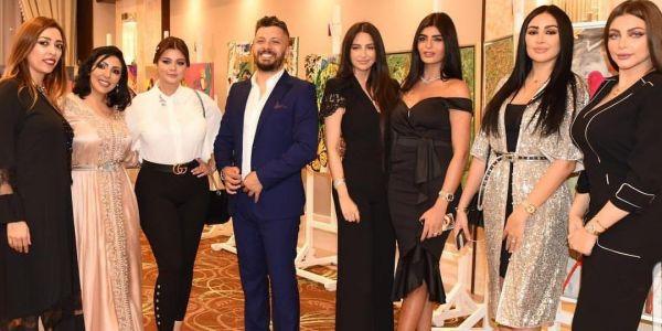 حاتم عمور مضور بيه الجمال المغربي في دبي -صور