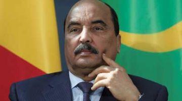 """الرئيس الموريتاني السابق """"ولد عبد العزيز"""" تحط ف الإقامة الجبرية"""