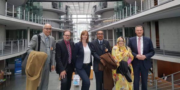 هاشنو طلب رئيس وفد البوليساريو من ألمانيا فختام الزيارة لبرلين