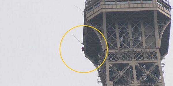 """السلطات الفرنسية خوات """"برج إيفل"""" من السياح  – فيديو"""