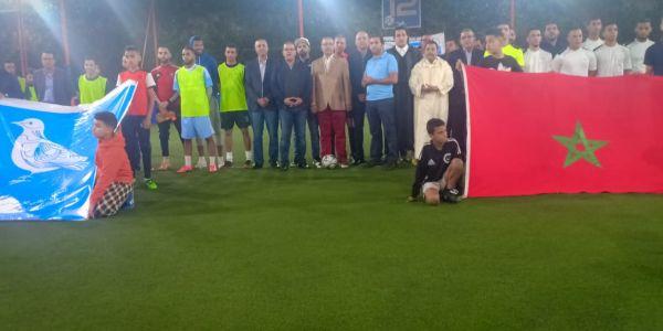 بالصور. الأحرار ناشطين في كازا في دوري رمضاني لكرة القدم غادي يحضر مباراته النهائية أخنوش