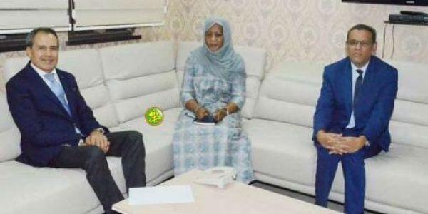 سفير المغرب حميد شبار محرك فموريتانيا وها شكون تلاقى