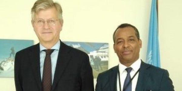 ممثل البوليساريو فالأمم المتحدة تلاقى مساعد الأمين العام لعمليات حفظ السلام