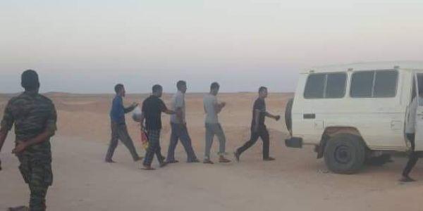 البوليساريو طلقات ربعة من معتقلي حراك تندوف
