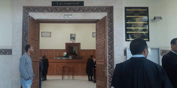 تأجيل أول جلسة استئناف ف محاكمة الصحافيين الأربعة والبرلماني حيسان