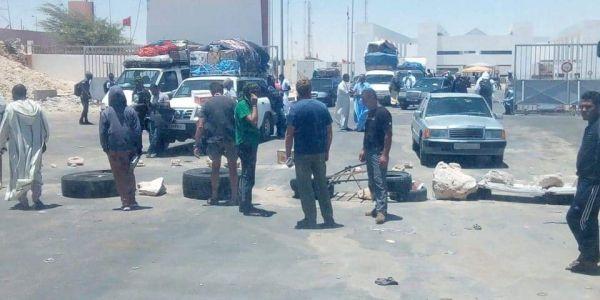 نشطاء ديال البوليساريو حرضو على اغلاق معبر الكركرات