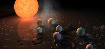 العلماء لقاو 18 كوكب جديد قد الأرض وواحد فيهم مناسب للحياة