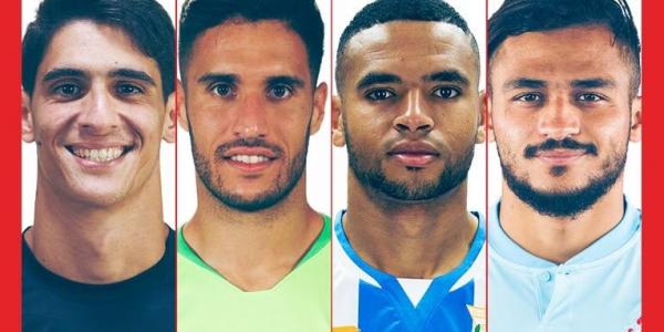 بالصورة. الليگا فرحانة بمشاركة اربعة لاعبين مغاربة من اسبانيا فكأس افريقيا