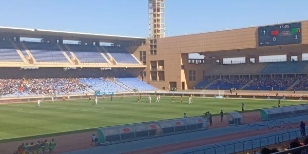 زامبيا زربات على المغرب في الدقيقة الأولى من ودية ملعب مراكش