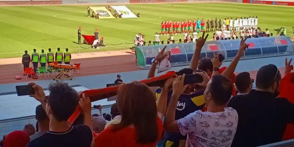 أسود الأطلس غادي يواجهو وديا غامبيا بملعب مراكش وسط حضور جماهيري ضعيف