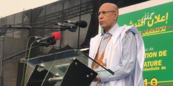 ولد الغزواني: منح الجنسية لساكنة مخيمات تندوف أو غيرهم جناية فحق الموريتانيين