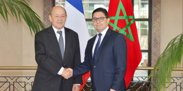 تفاصيل زيارة  وزير خارجية فرنسا للمغرب