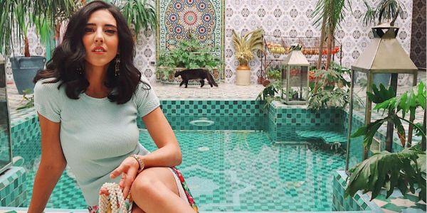 هاديا غالب الفاشيونيستا المصرية حضرات عرس مغربي في مراكش وعجباتها تقاليدنا – صور