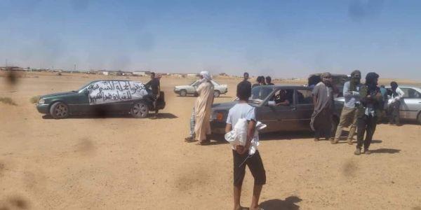 الرابوني على صفيح ساخن.. الاحتجاجات فمخيمات تندوف رجعات -صورة