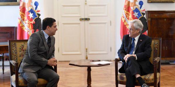 رئيس شيلي استقبل بوريطة وباغي يعزز العلاقات مع خامس اقتصاد فإفريقيا