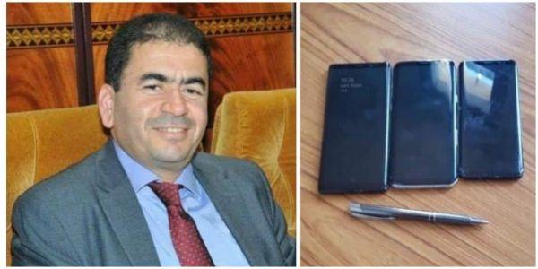 دفاعا عن البرلماني نور الدين قشيبل! المتهمون بالغش كثر بينما نادر بين الناس من له ثلاثة هواتف ذكية