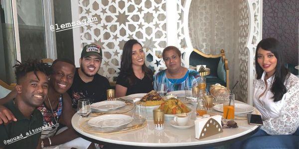 شميشة جمعات عائلة الكوايري حمزة منديل ومراتو في دبي -صور