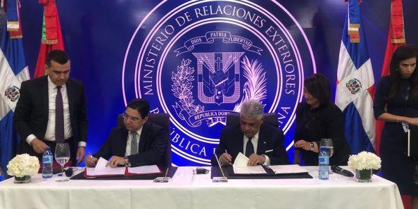 الدومينكان داعمة الحكم الذاتي وبوريطة وقع اتفاقية توامة بين الداخلة وسامانا