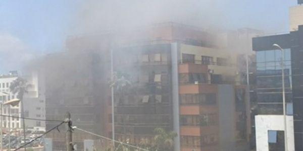 """العافية شعلات فالمقر المركزي ديال شركة """"إنوي"""" فكازا"""