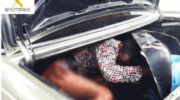 بالصور اعتقال جوج مغاربة مهربين غيني لمليلية