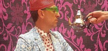 مغربي حتى لموت.. كَاد المالح لبس كمامة فيها الدرابو المغربي – تصويرة