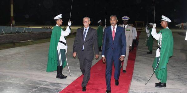 زعيم البوليساريو وصل لموريتانيا للمشاركة فحفل تنصيب ولد الغزواني