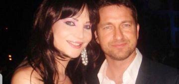 الراقصة نور تلاقات مع الممثل العالمي جيرارد باتلر