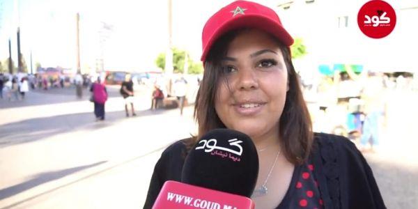 ميكرو طروطوار كود. المغاربة فرحانين بالمستوى ديال المنتخب وخا تقصى من الكان
