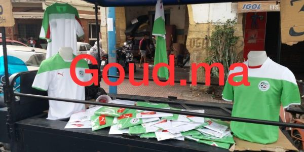 مغاربة كيتقداو تونيات الجزائر بساحة السراغنة في كازا باش يلبسوها غدا في مباراة نهائي كأس افريقيا ضد السنغال – صور