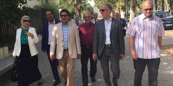 الجلسة الـ7 من محاكمة حامي الدين مستمرة من الصباح ودفاعه بدا يعقب على دفاع آيت الجيد حول عدم إمكانية متابعة عبد العالي
