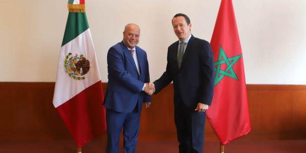 سفير المغرب فالمكسيك بدا خدمتو