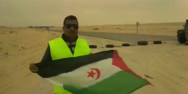 بعد حرمانو من الدعم المالي. انفصالي دخل فاعتصام فالكركرات