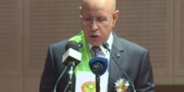 ولد الغزواني : انا رئيس لكل الموريتانيين وغادي ندير الإصلاح ونقوي العسكر