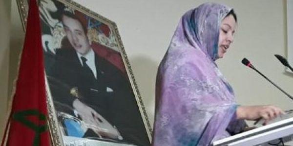 رئيسة لجنة حقوق الانسان الداخلة مشات للسجن المحلي ودات ليهوم العيد