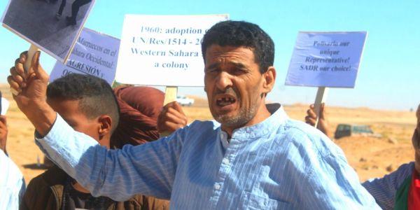 """تسجيل صوتي لمعتقل عند البوليساريو على اضرابو عن الطعام: """"الإفراج ولا الموت"""""""