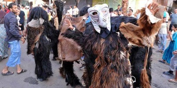 احتفالات بوجلود في جهة سوس صيفطات أزيد من 40 للبنيقة