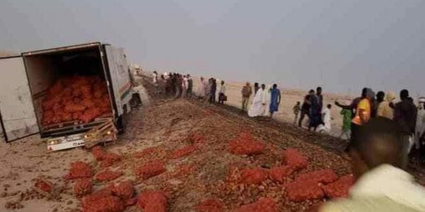 تران الحديد ديال موريتانيا فرشخ كاميو مغربية حدا انواذيبو