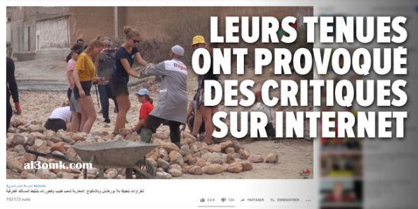 جدل التعليقات على موضوع الشابات البلجيكيات المتطوعات وصل للصحافة البلجيكية