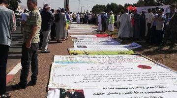 """سوس ضد """"التهميش"""".. مسيرة بأكادير كطالب بالحق فـ""""الثروة والأرض"""""""
