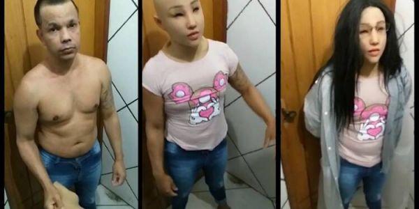 بالفيديو. بزناس دار راسو مرا باش يهرب من الحبس